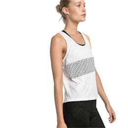 Women's Training Tank Top, Puma White, small-IND