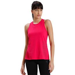 Twist It Women's Training Tank Top, BRIGHT ROSE, small-IND