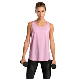 A.C.E. Raceback Women's Training Tank Top, Pale Pink, small-IND