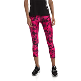 Stand Out Damen Training Leggings, fuchsia purple-puma black, small