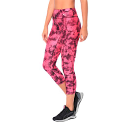 Stand Out Women's Training Leggings, fuchsia purple-puma black, small-IND