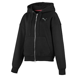 PUMA x SELENA GOMEZ Women's Training Hoodie, Puma Black, small-IND