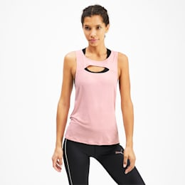 SHIFT Knitted Women's Training Tank Top, Bridal Rose, small
