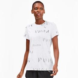 Last Lap Graphic Women's Running Tee, Puma White, small-IND