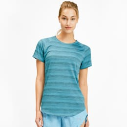 Get Fast Thermo-R+ Women's Tee, Milky Blue Heather, small