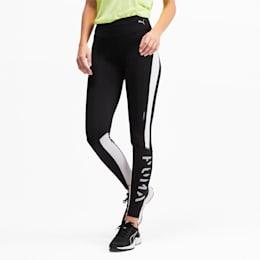 Get Fast Thermo R+ Women's Running Leggings, Puma Black-Puma White, small-SEA