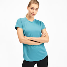 IGNITE Women's Tee, Milky Blue, small-IND