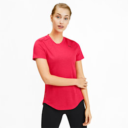 IGNITE Heather Women's Tee, Nrgy Rose Heather, small-IND