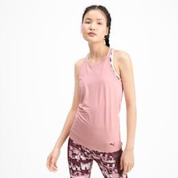 Camiseta sin mangas Studio con espalda deportiva para mujer, Bridal Rose Heather, pequeño