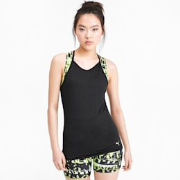 Studio Damen Racerback Tank-Top, Puma Black Heather, small