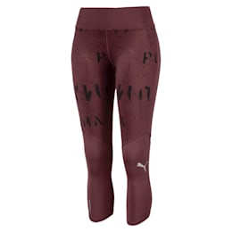 Graphic 3/4 Women's Running Tights