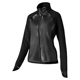 Get Fast Winter Woven Full Zip Women's Running Jacket