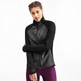 Get Fast Winter Woven Full Zip Women's Running Jacket, Puma Black, small