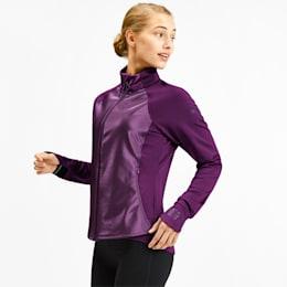 Get Fast Women's Winter Jacket, Plum Purple, small