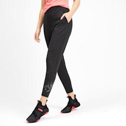 Calças de treino em malha Studio 7/8 para mulher, Puma Black, small