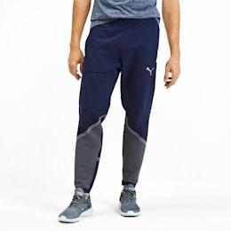 Pantaloni Training Reactive evoKNIT uomo, Peacoat-CASTLEROCK, small