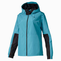 PUMA Warm Up Women's Woven Jacket, Milky Blue, small