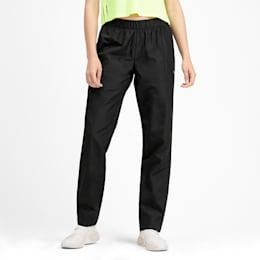 Woven Warm Up Knitted Women's Training Pants, Puma Black, small