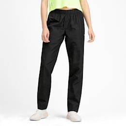 PUMA Woven Women's Warm Up Pants, Puma Black, small
