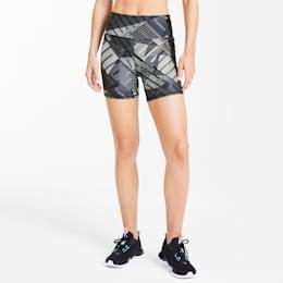 "Be Bold Graphic Women's 5"" Shorts, Puma Black-Puma White-Q1 Prt, small"