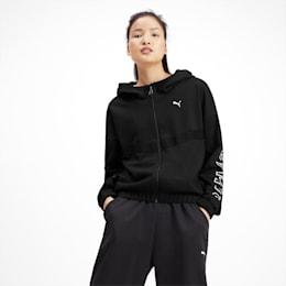 HIT Feel It Knitted Women's Training Sweat Jacket, Puma Black 1, small