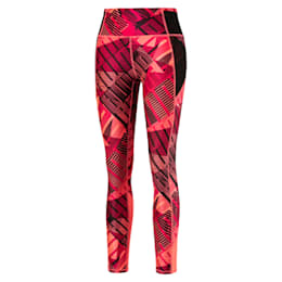 Be Bold 7/8 Women's Training Leggings, BRIGHT ROSE-Be Bold Q1 Prt, small-IND