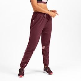HIT Feel It Knitted Women's Training Sweatpants, Vineyard Wine Heather, small-IND
