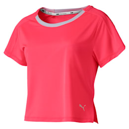 Cropped Short Sleeve Women's Training Tee