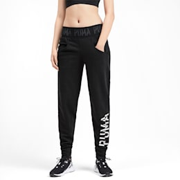 Logo Women's Sweatpants, Puma Black-Q3, small