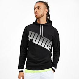 Collective Men's Hoodie, Puma Black, small-IND