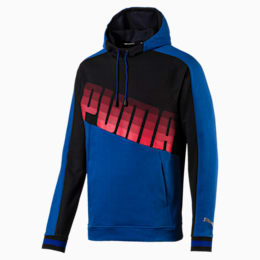 Collective Men's Hoodie, Galaxy Blue-Puma Black, small