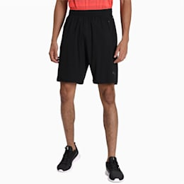 Collective Knitted Men's Training Shorts, Puma Black-Nrgy Red, small-IND