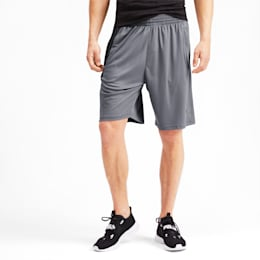 Shorts training Collective Knitted uomo, CASTLEROCK-Puma Black, small