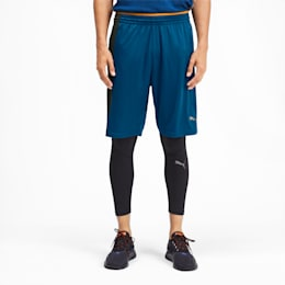 Shorts training Collective Knitted uomo, Gibraltar Sea-Puma Black, small