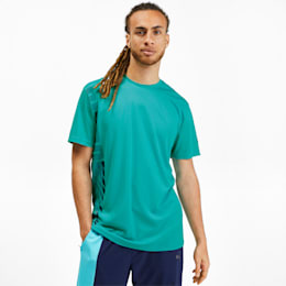 Collective Men's Tee, Blue Turquoise, small