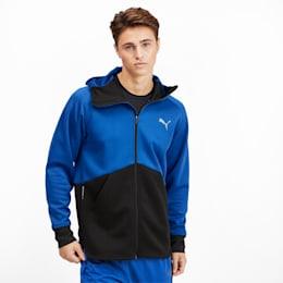 Power BND Men's Training Jacket, Galaxy Blue-Puma Black, small