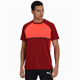 Power BND Men's Tee, Rhubarb-Nrgy Red, small-IND