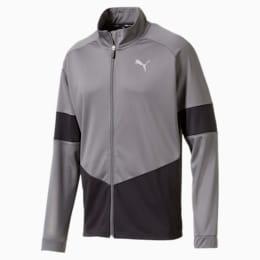 PUMA Blaster Men's Jacket, CASTLEROCK-Puma Black, small