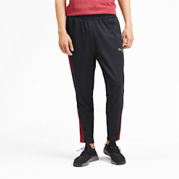 PUMA Blaster Men's Pants, Puma Black-Rhubarb, small