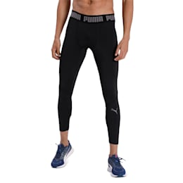 BND 7/8 Men's Training Tights, Puma Black, small-IND