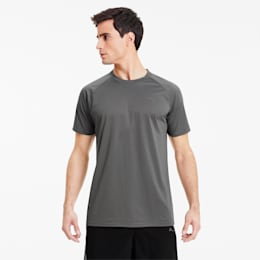 Short Sleeve Men's Tech Training Tee, CASTLEROCK, small
