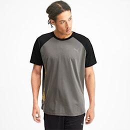 Collective Loud Herren T-Shirt, CASTLEROCK-Puma Black, small