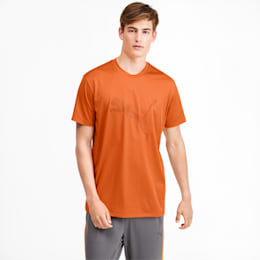 Collective Graphic Men's Training Tee, Jaffa Orange, small-IND