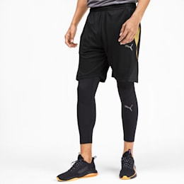 Collective Men's Graphic Shorts, Puma Black, small