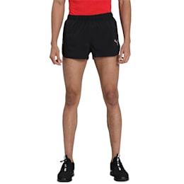 IGNITE Split Men's Running Shorts, Puma Black, small-IND