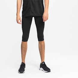 IGNITE 3/4 Men's Running Tights, Puma Black, small
