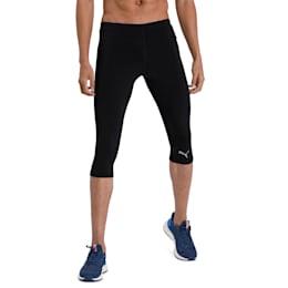 IGNITE 3/4 Men's Running Tights, Puma Black, small-IND