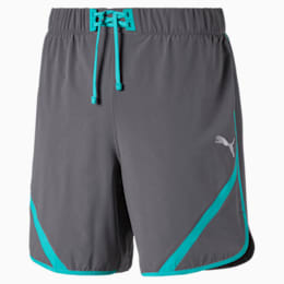 """Get Fast 7"""" Woven Men's Running Shorts, CASTLEROCK-Blue Turquoise, small"""