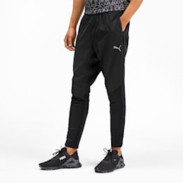 Get Fast Excite Woven Men's Running Pants, Puma Black, small-IND