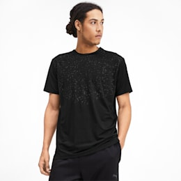 Reflective Tech Men's Training Tee, Puma Black, small-IND